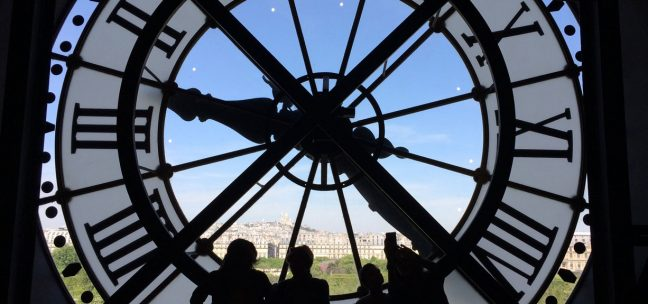 Clock at Orsay Museum